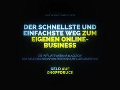 http://webinaris.com/lnk/6333.html Die simpelste Strategie zum Geld verdienen im Internet. GRATIS WEBINAR mit dem Affiliate-König Ralf Schmitz.