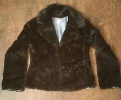 Vintage Coat - Vintage Jacket - BoHo Coat - Boho Jacket - Vintage Fur Coat - Vintage Fur Jacket - Bohemian Coat - Black Fur Coat - Small Fur by MyHailiesHaven on Etsy