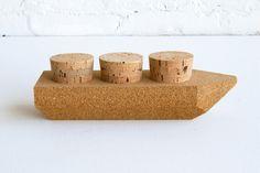 Contraband Toy Ships: Cork Cargo $32.00