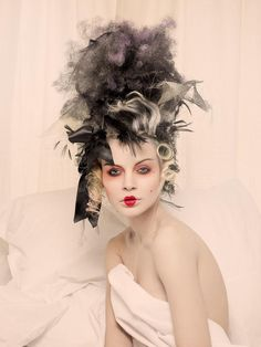 Shop Renaissance 4 Framed Photographic Print at Interiors Online. Mode Rococo, Rococo Style, Renaissance Makeup, Marie Antoinette Costume, Makeup History, Avant Garde Hair, Rococo Fashion, Fantasy Photography, Portraits