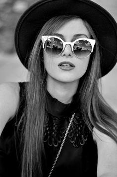 Sunglasses + Hat <3   #shellystuckman