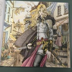 Throne of Glass Coloring Book: The Assassin and the Pirate Lord - Celaena