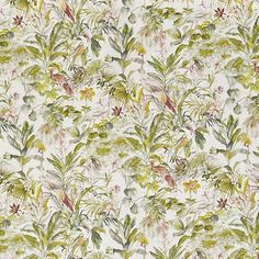 Paradiso Springtime  100% Cotton  Approx. 140cm | 64cm  Curtaining Curtain Fabric, Curtains, Stuart Graham, Forest Fruits, All Design, Spring Time, Woodland, Birds, Quilts