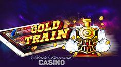#NewSlot   The big winning Gold Train slot is now live at Box 24, Black Diamond, and Spartan Slots Casino!