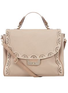80d83183272404 Dorothy Perkins Blush scallop edge satchel Price: £29.50 Mens Satchel,  Satchel Purse,