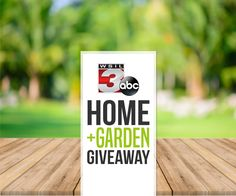 Enter now for a chance to win 1 of 4  awesome prizes in the WSIL Home and Garden Giveaway - sponsored by Ben's Lawn Service, Deloufleur Decor and Designs, Accu-Grow and Pine Ridge Homes!