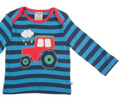 Mommies little Monsters - Shirt red Tractor 27 CHF