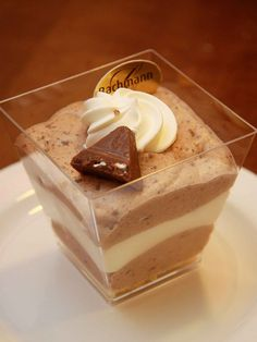Toblerone mousse #chocolate #french #mousse #dessert