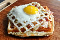 While it's primarily celebrated in Sweden — apparently binging on waffles marks the beginning of spring — we're celebrating here, too. And because we love waffles. Egg Recipes, Great Recipes, Cooking Recipes, Favorite Recipes, National Waffle Day, Waffle Maker Recipes, Foods With Iron, Iron Foods, Pancakes And Waffles