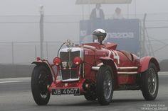 Pete Thelander's 1934 MG NE exits turn eleven.