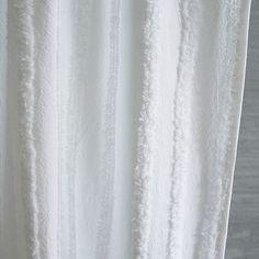 Candlewick Stripe Shower Curtain