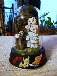 Betty Boop Frankly My Dear I Don/'t Give a Boop Gone w// the Wind Metal Sign