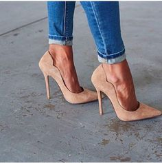 Nude high heels #shoes #heels #highheels #nude #beige