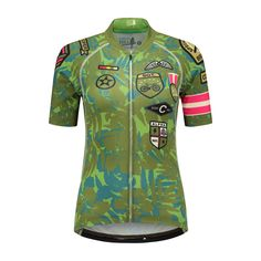 Canary Hill Camouflage fietsshirt voor dames - Canary Hill Funky Design, Camouflage, Glamour, Womens Fashion, Sports, Tops, Hs Sports, Military Camouflage, Women's Fashion