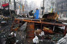 Ukraine. Kiev. Euromaidan by Vladyslav Musiienko - Sony World Photography Awards 2015