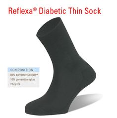 Reflexa Diabetic Thin Sock