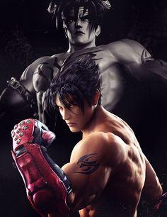 Tekken 7 Jin, Tekken Jin Kazama, Tekken 5 Characters, Video Game Characters, Lee Chaolan, Tekken Wallpaper, Tekken Girls, Escalier Art, Tekken Tag Tournament 2