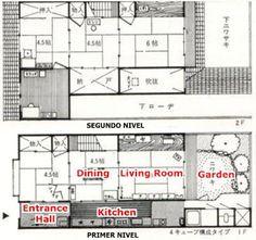 Mein Moleskine Architectural: Machiya: JAPANESE HOUSE