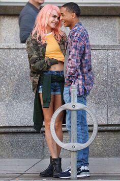Cara Delevingne & Jaden Smith