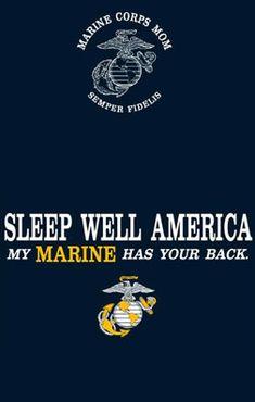 I don't have a Marine but if I did... He'd have your back ;)