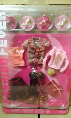 2006 Barbie Fashion Fever Fashions 001 | eBay