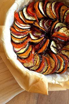 Mediterrane groenteschotel