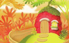 Strawberry House by Shishir on Storybird