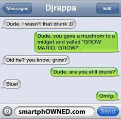 Really Funny Text Messages I Wasnt That Drunk Texts, Really Funny Texts, Funny Drunk Texts, Funny Texts From Parents, Funny Texts Jokes, Funny Texts Crush, Text Jokes, Crazy Funny Memes, Funny Quotes