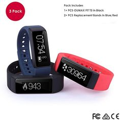 OUMAX T3 (3 Colored Bands) Activity and Fitness Tracker W... http://www.amazon.com/dp/B012IDZ5L0/ref=cm_sw_r_pi_dp_qTgkxb0AYKPGM