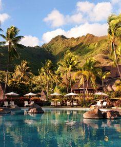 Hilton Moorea Lagoon Resort and Spa, French Polynesia