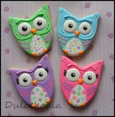 Buhos. Galletas decoradas / decorated cookies