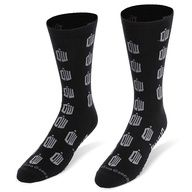 ThinkGeek :: Doctor Who Crew Socks    TARDIS socks! These would be good for a gift exchange too.