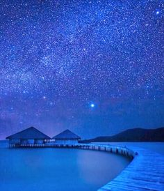 MY ABSOLUTE DREAM HONEYMOON Bora Bora Under the Stars. IT IS ABSOLUTELY BREATH TAKING AND SO BEAUTIFUL