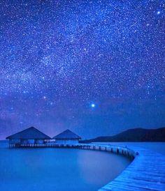 Bora Bora Under the Stars