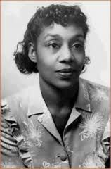 """Augusta Savage - sculptor. She created the sculpture """"Lift Every Voice and Sing"""" , a depiction of the Black National Anthem for 1935 Worlds fair. After the fair she needed funds and help to move the award winning piece, but receiving none the piece was bulldozed."""