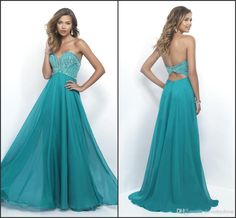 Charming Green Chiffon Prom Dress Sequin Beadings Cheap Price Sweetheart Neck Backless Sexy High Quality Party Gown High Quality Custom B Darlin Prom Dresses Backless Prom Dresses Uk From Lovemydress, $118.6| Dhgate.Com