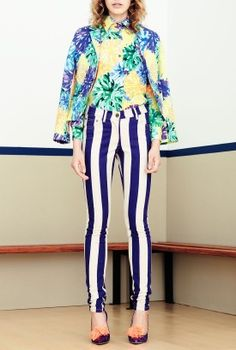 House of Holland Pom Floral Blazer @ Velvet Lane     Shop the Laneway