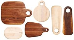 Gorgeous sustainably made handmade cutting boards. They almost seem primitive, but modern at the same time.