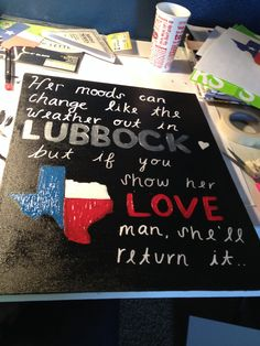 josh Abbott she's like texas canvas