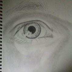 It is my own eye.