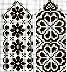 Crochet Mittens Free Pattern, Knitting Paterns, Crochet Gloves, Knit Mittens, Knitting Charts, Knitting Yarn, Free Knitting, Knitting Projects, Filet Crochet