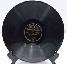 """Decca 1952 Personality Series 78 RPM 10"""" record, Shellac, Sy Olivera - Play-Rated as VG - $2.95"""