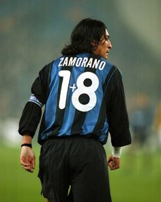 Ivan Zamorano - Inter When Ronaldo took his number 9 shirt he asked for 1+8. Classic shirt.