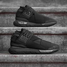 adidas Y-3 Qasa High: Black