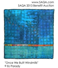 Art quilt by BJ Parady