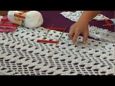 Learn Hairpin Lace from Kristin Omdahl on Knitting Daily TV Crochet Corner - YouTube