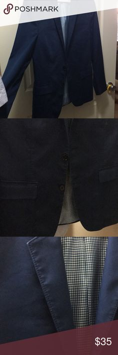 Express men's sport jacket Very gently used navy blue in color Express Suits & Blazers Sport Coats & Blazers