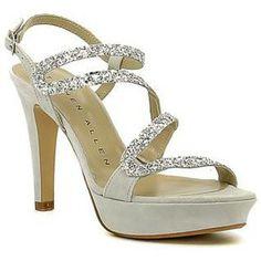 <p>Sandalias de color metalizado para mujer de la marca Stephen Allen. Cierre mediante hebilla.</p> <p>* Altura tacón 3cm</p> <p>* Altura plataforma11cm</p> - Farbe : metallisch - Schuhe Damen 99,95 €