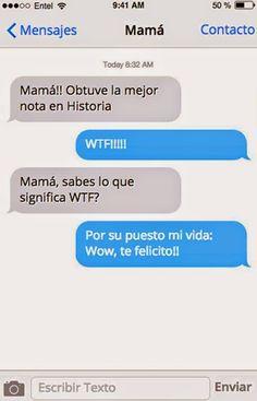 Que dominan la jerga de internet a la perfección. | 26 Mensajes de WhatsApp que solo una mamá envía
