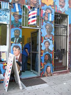 Mural in Mission District...
